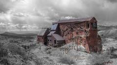Vindicator Ore House; Victor, Colorado (jay-kantor) Tags: victorcolorado vindicatormine vindicatororehouse vindicatorvalleytrail vindicator trail colorado victor mining coloradomining goldmine