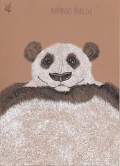 Bamboo rules! (Klaas van den Burg) Tags: bamboo blackanwhite schrating humor ink