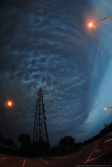 Thunderstorm Canopy (Infinity & Beyond Photography) Tags: thunderstorm anvil canopy mammatus cloud clouds sky skies florida stormy weather celltower 8mm samyang wideangle fisheye lens