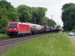 DBC 187 105 (jvr440) Tags: trein train spoorwegen railroad railways bornheim db deutsche bahn cargo br187