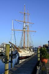 Fritha (pjpink) Tags: fritha sailboat sailing sailingship tallship ship boat mast vessel waterfront dock beaufort northcarolina nc carolina coast eastcoast crystalcoast may 2018 spring pjpink 2catswithcameras