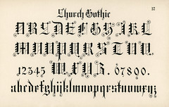 Church gothic calligraphy fonts from Draughtsman's Alphabets by Hermann Esser (1845–1908). Digitally enhanced from our own 5th edition of the publication. (Free Public Domain Illustrations by rawpixel) Tags: otherkeywords az alphabets ancient antique arabicnumber background cc0 church classic creativecommon0 creativecommons0 design draughtsman draughtsmansalphabets english esser font fonts gothic graphic hermann hermannesser illustration isolated latin latinalphabet letter letters number numbers numerical old palewhite print publicdomain styles text vintage writing