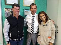 Visita - Edmilson de Souza Sanglard e Maura Mattioli