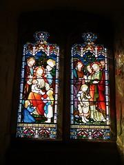 Church - St Mary, Kirkby Lonsdale 180405 [stained glass window 3a] (maljoe) Tags: church churches stmarys kirkbylonsdale stmaryskirkbylonsdale stmaryschurchkirkbylonsdale stainedglass stainedglasswindow stainedglasswindows