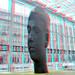 William Faulkner by Jaume Plensa Erasmus MC Rotterdam 3D