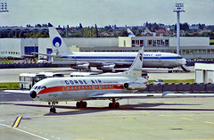 F-BVSF   Sud Aviation SE.210 Caravelle 6N [241] (Corse Air International) Paris-Orly~F 16/06/1982 (raybarber2) Tags: 241 airliner airportdata alpechacollection approachtodo cn241 fbvsf flickr frenchcivil lfpo slide