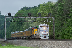 NS 066-30 @ Lilly, PA (Darryl Rule's Photography) Tags: 1943 2018 amtrak clouds cloudy diesel diesels emd freight freightcar freighttrain freighttrains ge helpers may middledivision mixedfreight ns norfolksouthern ocs passenger passengertrain railroad railroads sd70ace spiritoftheunionpacific spring train trains up unionpacific westslope