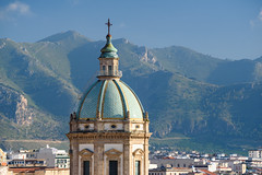 Palermo - Casa Professa (1564 AD) (bautisterias) Tags: palermo sicily sicilia southernitaly italy unesco arabnormanpalermo d750 sunny blueskies baroque