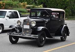 1931 Ford Model A Victoria (Custom_Cab) Tags: 1931 ford model a modela victoria 2door 2 door tudor sedan car murray body black
