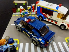 Queenscliffe Bricks 2018 (8) (Lonnie.96) Tags: complete new roof minifigure minifig walkway service state ses local boat mfb 09 guard coast winter snowmobile snow light traffic ladder tree top studs snot road command health replica authority country cfa right left back front door bay building car van truck fire police ambulance rescue emergency station brick australia victoria mugs geelong bellarine creation own moc model packup setup 10 9 8 june 2018 seventh exhibitor exhibition display lego bricks lonsdale point queenscliffe queenscliff