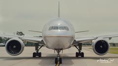 United B777-224ER N78008 (aleks_cal) Tags: united b777 houston kiah iah boeing boeinglovers instaplane plane spotter spotting