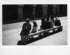 Milano (Valt3r Rav3ra - DEVOted!) Tags: fujiinstaxwide300 fuji instax instantfilm instantcamera streetphotography street valt3r valterravera visioniurbane urbanvisions bw biancoenero blackandwhite film analogico analogica analog analogue milano