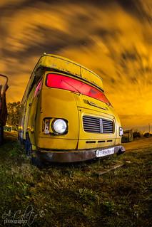 El viejo camión