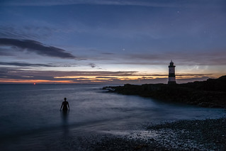 'Night-Swimming' - Penmon Point, Anglesey