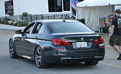 BMW M5 (F10) (SPV Automotive) Tags: bmw m5 f10 sedan exotic sports car grey