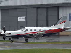 M-DSKY Socata (Daher) TBM-910 Sterana Aviation Ltd (Aircaft @ Gloucestershire Airport By James) Tags: gloucestershire airport mdsky socata daher tbm910 sterana aviation ltd egbj james lloyds
