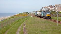 Loco Go (Richie B.) Tags: 68016 68018 seascale cumbria 6c51 drs direct rail services vossloh caterpillar class 68 fna nuclear flask