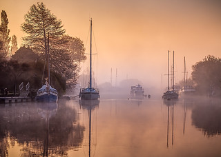Wareham- Sunrise and Mist II