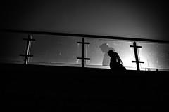 Me and My Shadow 268.365 (ewitsoe) Tags: session spring street warszawa erikwitsoe poland urban warsaw mono monochrome blackandwhite bnw man crossing backlit light dark bridge gallery art style morning ewitsoe