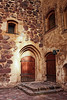Medieval Doorway At A Castle (k009034) Tags: 500px copy space finland tranquil scene turku arch architecture brick building castle door doorway exterior hinge iron lamp landmark light medieval no people old shadows stone travel destinations wall windows wooden yard steps heritage entrance historical architectural feature teamcanon copyspace tranquilscene nopeople traveldestinations