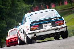 Dean Halsey/Wil Arif - Datsun 240Z (MPH94) Tags: cscc classic sports car club oulton park cheshire auto cars motor sport motorsport race racing motorracing dean halsey wil arif datsun 240z