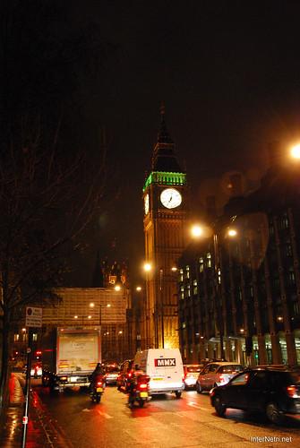 Парламент і Біг Бен Лондон вночі InterNetri United Kingdom 0442