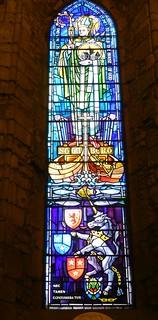 Stained Glass Window, Dornoch Cathedral, Dornoch, Sutherland, March 2018