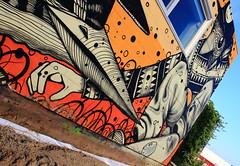 Malines Near the Skate Park @Gijs Vanhee   IMG_0280 (blackbike35) Tags: malines melchelen belgique art artwork de rue aérosol bomb paint graff graffiti street streetart urban public writing artist