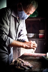 Hoi An - The Baker (Gilama Mill) Tags: pastry pancake asia people travel vietnam water hoian baker baking cooking man cook kitchen hands