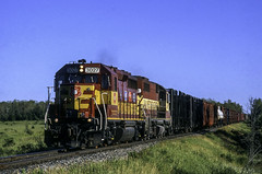 Evenings at Dafter (ac1756) Tags: wisconsincentral wcl wc emd gp402 3027 gbsoa dafter michigan