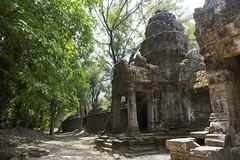 Preah Khan à Angkor, Cambodge (voyagesphotos) Tags: asia asie architecture ruine ruin temple cambodge cambodia preah khan angkor landscape paysage bâtiment building