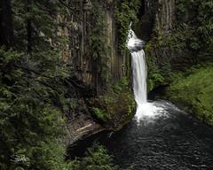 Toketee Falls (TierraCosmos) Tags: falls waterfall toketeefalls oregon landscape centraloregon longexposure