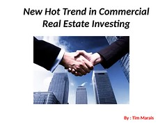 Commercial Real Estate Investing (timmarais) Tags: timmarais real estate investment finance | tim marais