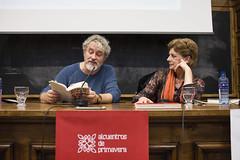 """Presentación del libro """"Contra todo esto: un manifiesto rebelde"""" (Manuel Rivas y Ángeles Caso)"""