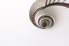Staircase XX (chris-tik) Tags: urban architecture abstract building design stairs steps stairwell staircase indoor spiral architectural escalera oval treppen architektur gebäude treppenhaus architec escala treppe travemünde hotel