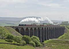 45690 Ribblehead 05-06-18 (prof@worthvalley) Tags: all types transport steam locomotive railway railroad uk 45690 leander settle carlisle ribblehead