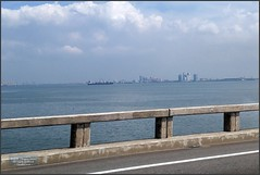 Malaysia-Penang Bridge 20180121_123456 LG (CanadaGood) Tags: asia asean seasia malaysia penang highway bus bridge building canadagood 2018 thisdecade color colour green cameraphone