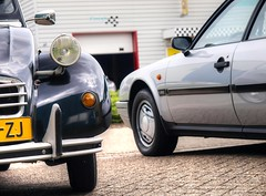 Citroën 2CV 6 Club / CX 25 GTi Turbo 2 (Skylark92) Tags: nederland netherlands holland noordholland northholland wormer 2cv eendengarage sander aalderink windshield road car citroënforum voorjaarsmeeting 2018 citroën 6 club rl06zj 1987 s6 grass sky window 1989 pxfs41 cx 25 gti turbo 2