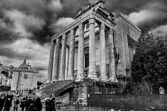Temple of Antoninus and Faustina, Rome, Italy - Explore June 12, 2018 (P English) Tags: roma lazio italy it nikon d850 2470 rome forum templeofantoninusandfaustina building