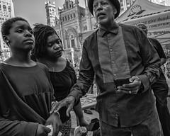 City Hall, 2017 (Alan Barr) Tags: philadelphia 2017 cityhall religion religious prayer street sp streetphotography streetphoto blackandwhite bw blackwhite mono monochrome candid city people panasonic lumix gx7