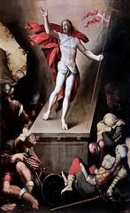 IMG_4002OB Simon de Chalons actif à Avignon de 1532 à 1562. La Résurrection du Christ The Resurrection of Christ 1573s Avignon Musée Calvet. (jean louis mazieres) Tags: peintres peintures painting musée museum museo france avignon muséecalvet simondechalons