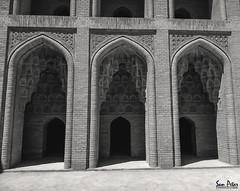 Rooms in Abbasid palace (Sam Petar) Tags: iraq baghdad bw fine art room abbasi palace mobile huawei
