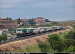 Contraste de básculas (Trenes2000) Tags: tren trenes contraste basculas 319 319340 adif salamanca mercancias caldero diesel trenes2000 españa j ealos 2018 mercante medina