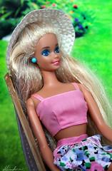 Barbie Mermaid doll 1991 (alenamorimo) Tags: barbie barbiedoll doll barbiecollector summer weekend mermaidbarbie