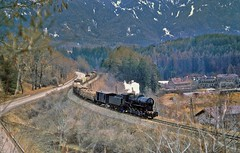 Fortezza/San Candido, Italy, 1972 (Yeovil Town) Tags: italy railway sancandido fortezza 741046 francocrostiboile