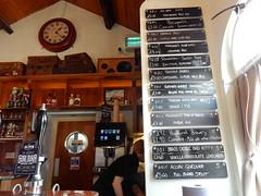 Trackside Pub, ELR, Bury. 40's Weekend 2018. (deltrems) Tags: trackside bury greater manchester beer real ale pub bar inn tavern hotel hostelry house restaurant elr east lancs lancashire railway menu list 40s weekend