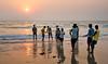 Рыбалка на закате(Fishing at sunset) (vladsid1969) Tags: рыбалка закат fishing sunset люди деревня море традиция дети sea fishermen india tradition children village together amicably