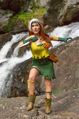 Savage Lands Rogue (S1Price Lightworks) Tags: rogue xmen marvel comics stan lee savage lands cosplay girl dagger waterfall portrait water comiccon cosplayer comic