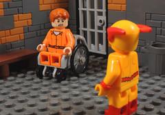 You Can Make Us Better (-Metarix-) Tags: lego minifig dc comics comic flash eobard thawne hunter zolomon reverse iron heights prison custom wally west rebirth universe