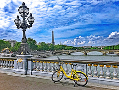 margnac jeanpaul paris france ofo dockless bicycle... (Photo: Margnac on Flickr)